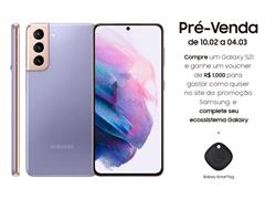 "Smartphone Samsung Galaxy S21 5G 128GB 6.2"" 8GB RAM 64+12+12MP Violeta - 0"