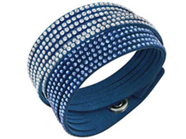 Pulseira Swarovski Slake Blue 2 in 1 Azul