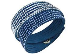 Pulseira Swarovski Slake Blue 2 in 1 Azul - 0