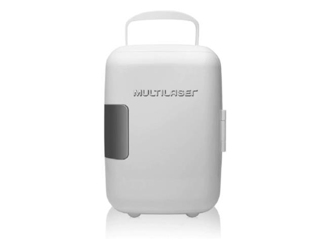 Mini Geladeira Multilaser 4L 6 Latas de 350ML Cabo DC Branca