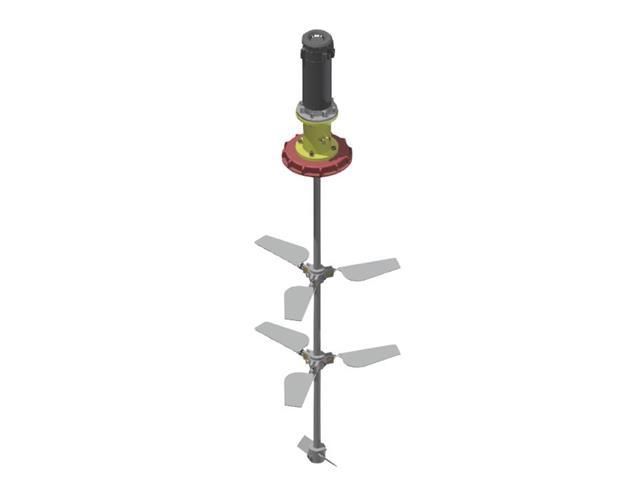 Kit Herbicat KA IBC 002 Agitador para IBC