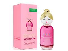Perfume Benetton Sisterland Pink Raspberry EaudeToilette Feminino 80ML