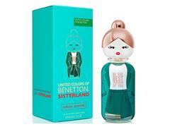 Perfume Benetton Sisterland Green Jasmine Eau deToilette Feminino 80ML