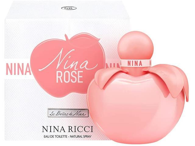 Perfume Nina Ricci Nina Rose Eau de Toilette Feminino 50ML