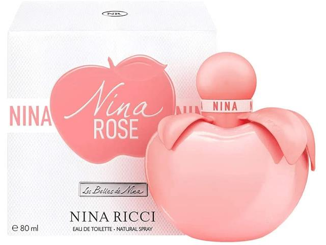 Perfume Nina Ricci Nina Rose Eau de Toilette Feminino 80ML