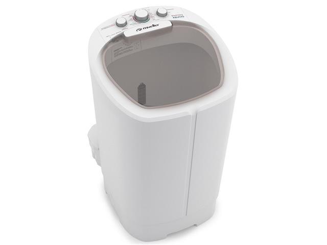 Lavadora Semiautomática Mueller Big com Aquatec 16KG Branca