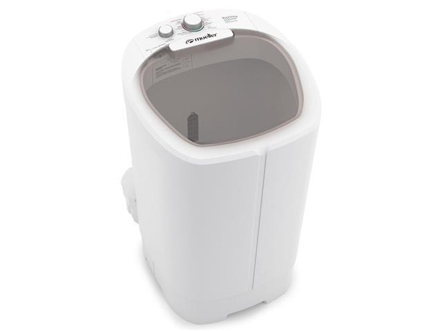 Lavadora Semiautomática Mueller Big com Aquatec 14KG Branca