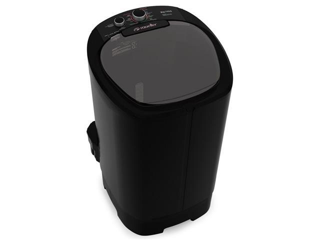 Lavadora Semiautomática Mueller Big com Aquatec 14KG Preta