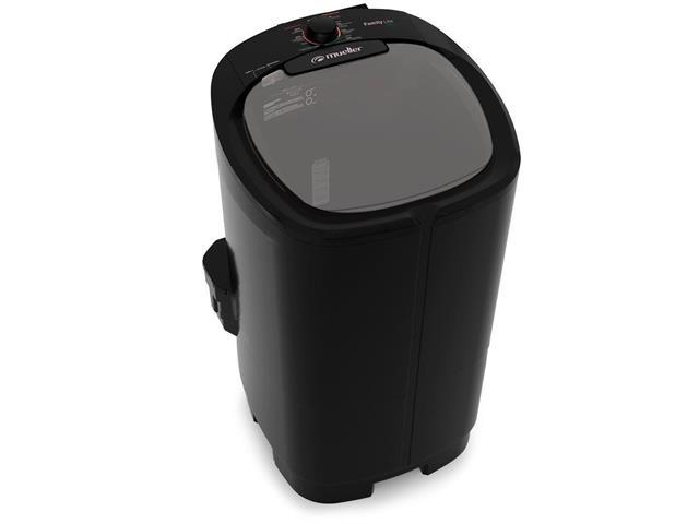 Lavadora Semiautomática Mueller Family Lite 10KG Preta