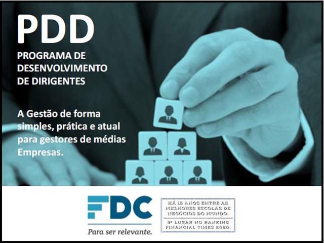 PDD - Programa de Desenvolvimento de Dirigentes