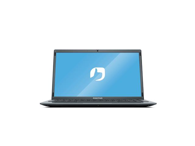 "Notebook Positivo Motion QuadCore™4GB MMC 128GB 14""W10+Office 365 1ano"
