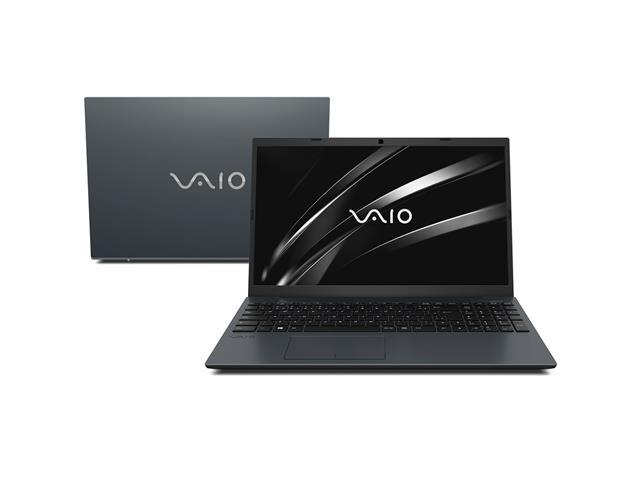 """Notebook VAIO® FE15 Core™ i7 10ª Geração 8GB SSD 512GB 15,6"""" W10 Cinza"""