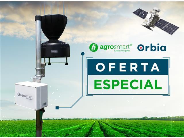 Pluviômetro Digital Agrosmart - Satélite