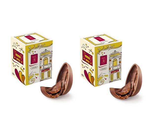Combo 2 Ovos de Páscoa Havanna Chocolate Recheio Doce de Leite 150G
