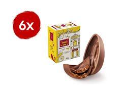 Combo 6 Ovos de Páscoa Havanna Chocolate ao Leite e Doce de Leite 400G