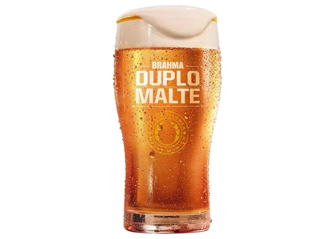 Copo para Cerveja Brahma Duplo Malte 425ML
