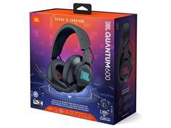Headset Gamer Sem Fio JBL Quantum 600 RGB Driver 50mm JBLQUANTUM600BLK - 4