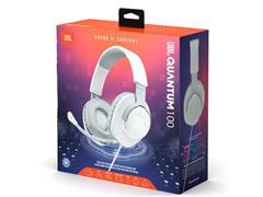 Headset Gamer JBL Quantum 100 Drivers 40mm Branco 28913225 - 6