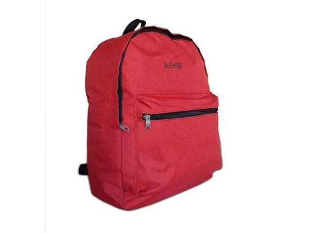 Mochila Keep BO434 Colors 15,6 Polegadas Vermelha