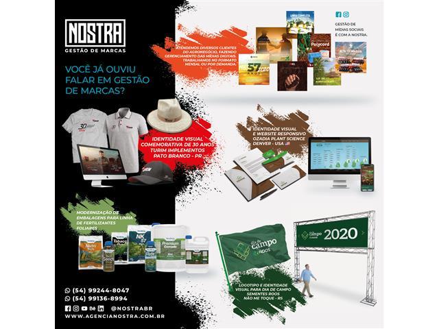 Design para mídias - Agência Nostra