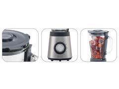 Liquidificador em Inox Black&Decker Gourmand Gris JarraVidro 700W - 1
