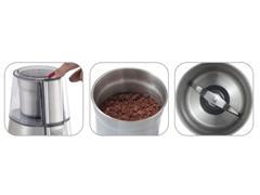 Moedor de Grãos Inox Black&Decker Gourmand Gris Ajuste de Moagem - 1