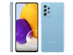 "Smartphone Samsung Galaxy A72 4G 128GB 6.7"" QuadCâm 64+12+8+5MP Azul - 1"