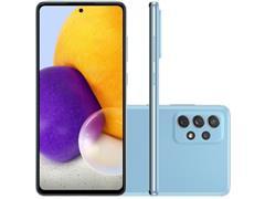 "Smartphone Samsung Galaxy A72 4G 128GB 6.7"" QuadCâm 64+12+8+5MP Azul - 0"