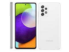 "Smartphone Samsung Galaxy A52 4G 128GB 6.5"" QuadCâm 64+12+5+5MP Branco - 1"