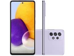 """Smartphone Samsung Galaxy A72 4G 128GB 6.7""""QuadCâm 64+12+8+5MP Violeta - 1"""