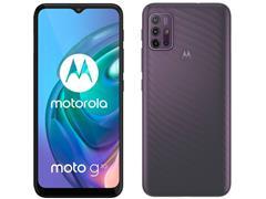 "Smartphone Motorola Moto G10 4G 64GB Tela 6.5""QuadCâm 48+8+2+2MP Cinza - 1"