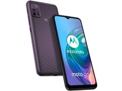 "Smartphone Motorola Moto G10 4G 64GB Tela 6.5""QuadCâm 48+8+2+2MP Cinza - 2"