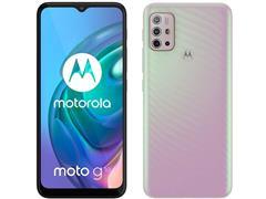 "Smartphone Motorola Moto G10 4G 64GB Tela6.5""QuadCâm 48+8+2+2MP Branco - 1"