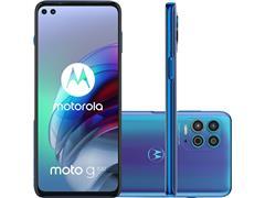 """Smartphone Motorola Moto G100 5G 256GB 6.7"""" QuadCâm 64+16+2MP+ToF Azul"""