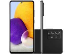 """Smartphone Samsung Galaxy A72 4G 128GB 6.7"""" QuadCâm 64+12+8+5MP Preto"""