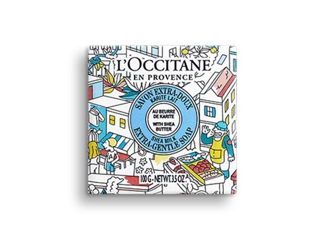 Sabonete Karité Leite L'Occitane en Provence 100g