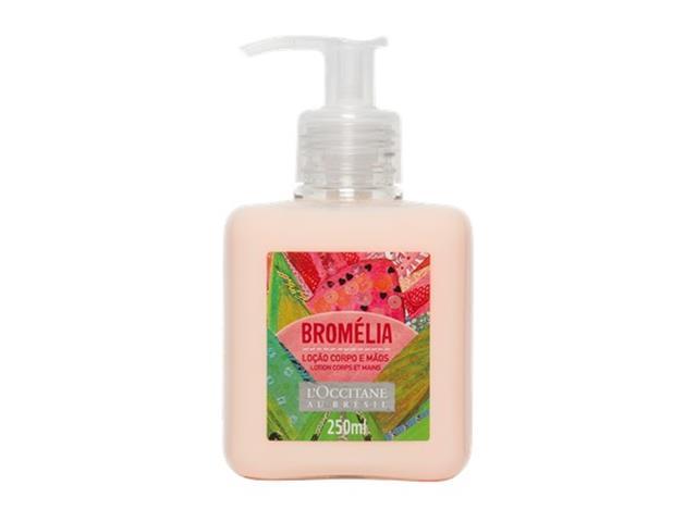Loção Desodorante Corporal e Mãos L'Occitane au Brésil Bromélia 250ML