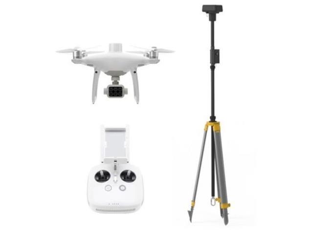Drone DJI Phantom 4 Multispectral + D-RTK 2 High Precision GNSS Mobile