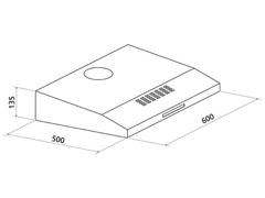 Depurador de Ar Tramontina Compact 60 Inox - 1