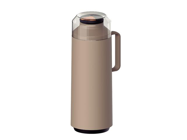 Garrafa Térmica Tramontina Exata 1 Litro Bege