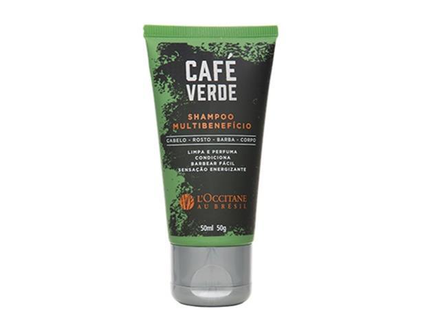 Shampoo Multibenefício L'Occitane au Brésil Café Verde 50ML