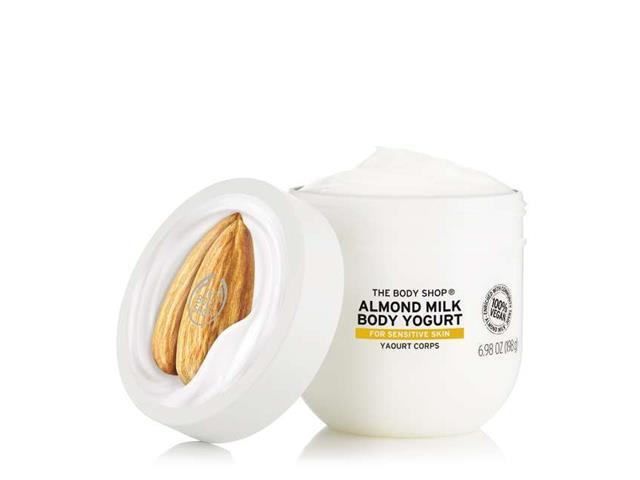 Loção Corporal Yogurt The Body Shop Leite de Amêndoas 200ML