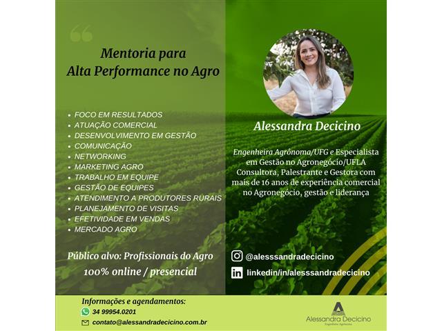Treinamentos - Alessandra Decicino
