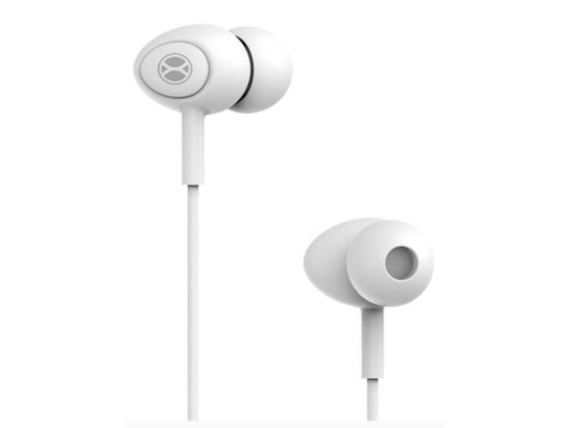 Fone de Ouvido Xtrax com Microfone Branco