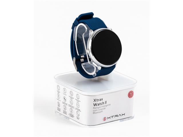 Relógio Smartwatch Xtrax Watch ll Azul