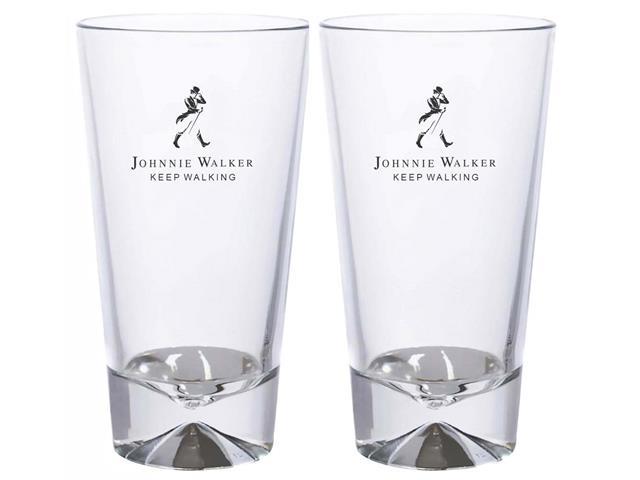 Jogo de Copos Long Drink Johnnie Walker 2 Peças de 450ML