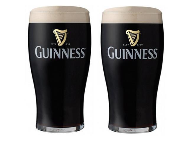 Jogo de Copos Guinness 2 Peças de 560ML