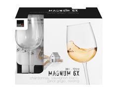 Jogo de Taças para Vinho Magnum 6 Peças de 360ML - 1