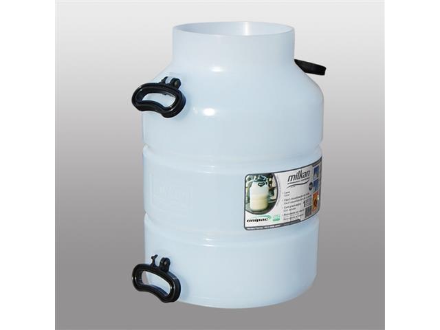 Vasilhame Plástico para Leite Unipac Milkan Plus Ordenhadeira 40Litros