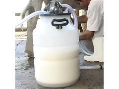 Vasilhame Plástico para Leite Unipac Milkan Plus Ordenhadeira 40Litros - 1